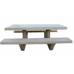 Cement Picnic Table 8